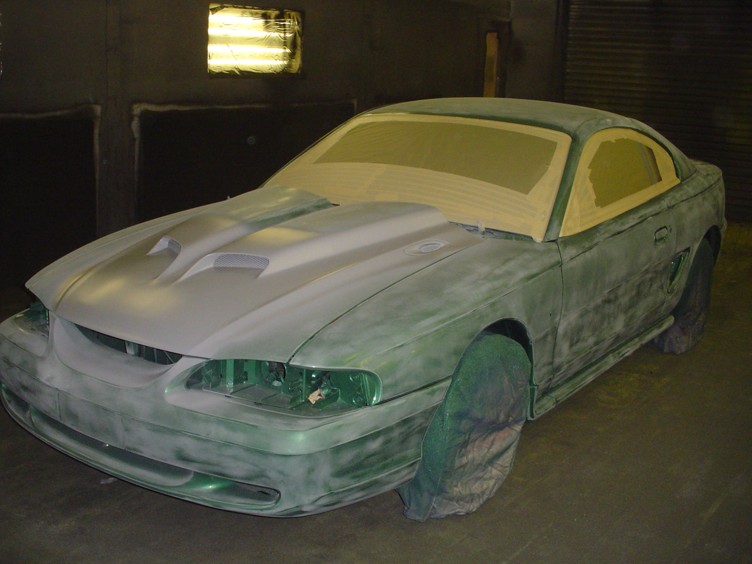 Jessie's Mustang