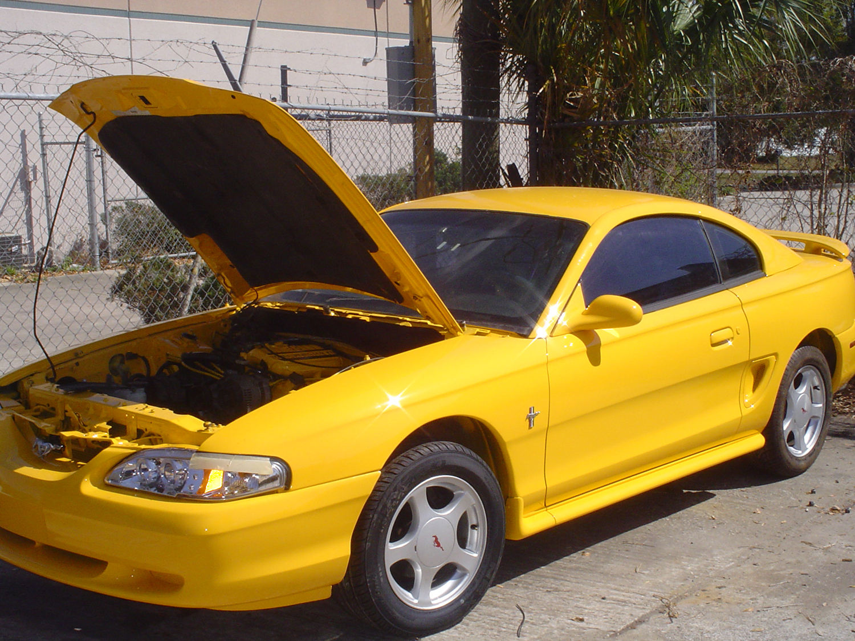 Kim's Mustang