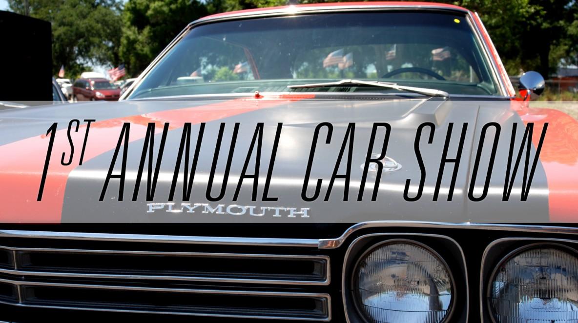 1st annual car show