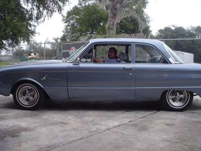 1964 FALCON BEING LOWERED 3 INCHES