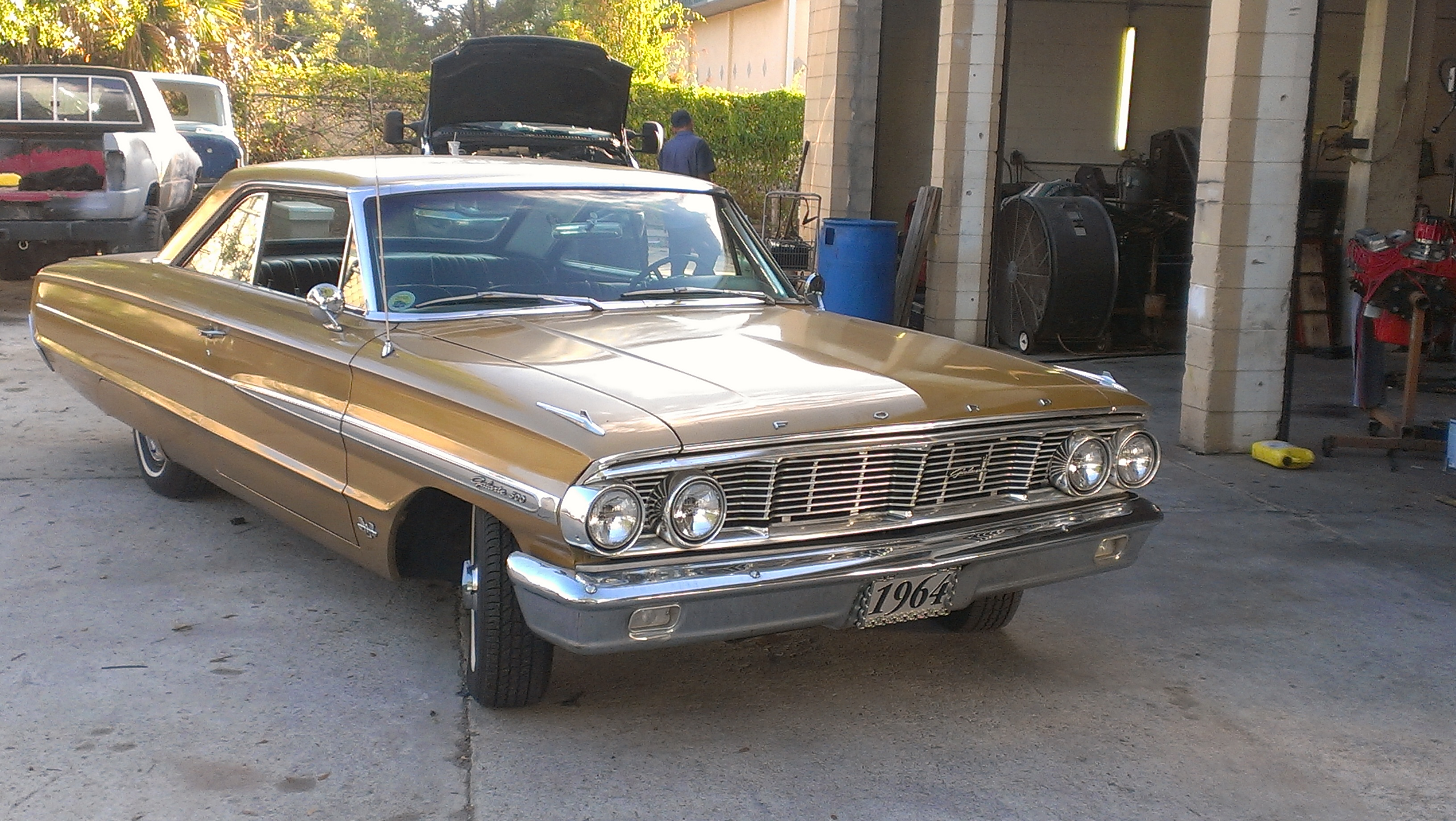 1964 GALAXIE 500WE WORKED ON