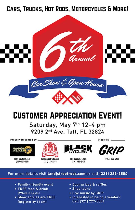 6th Annual Car Show!
