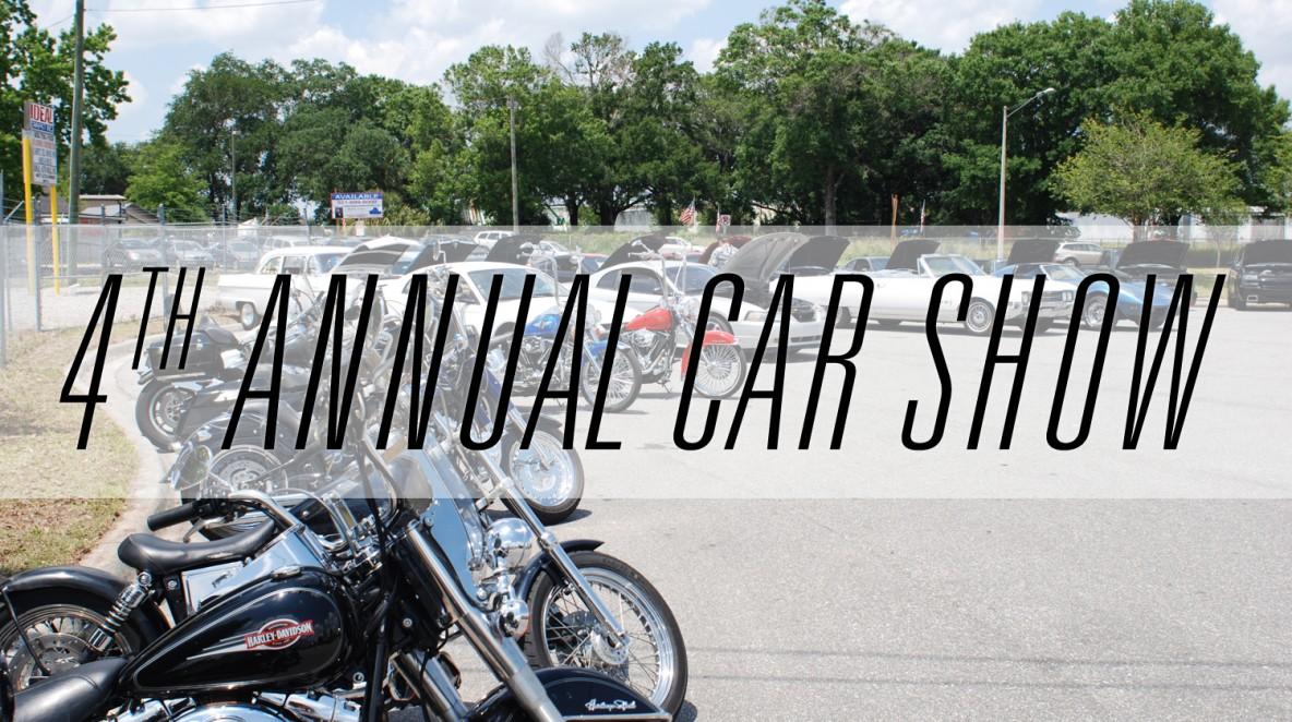 4th Annual Car show event - 2014